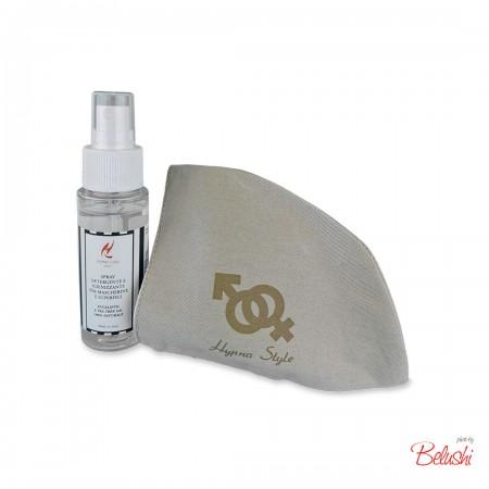 HypnoCasa - kit  emergenza: mascherina donna + spray igienizzante 50ml