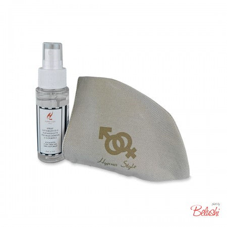 HypnoCasa - kit  emergenza: mascherina uomo + spray igienizzante 50ml