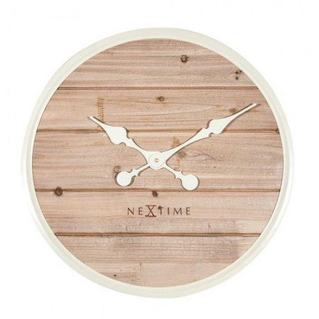 NEXTIME - Plank wood white,...