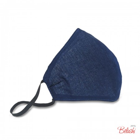 Mascherina Belushi - blu,...
