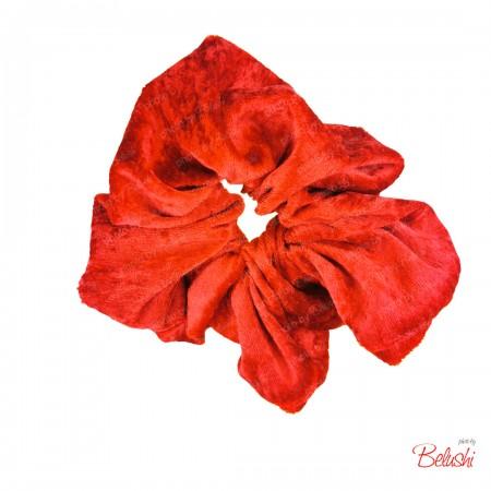 Belushi - Elastico per capelli, rosso