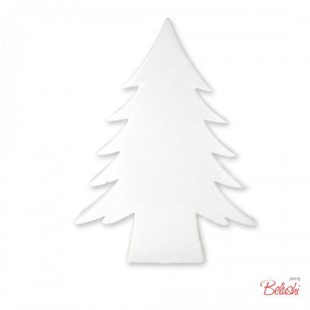 Albero Natale in ceramica, bianco