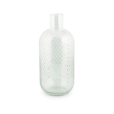 Bottiglia in vetro DOTS - trasparente